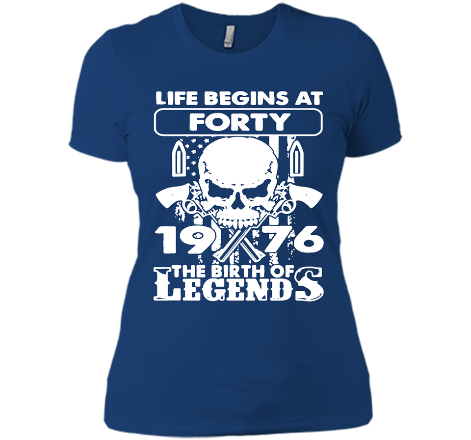 1976 The Birth Of Legends T Shirts-New Wave Tee