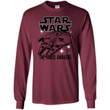 The Millennium Falcon Star Wars T Shirts