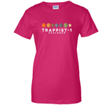 7 New Planets Trappist 1 Explorer Astrology Science T-shirt T Shirts-New Wave Tee