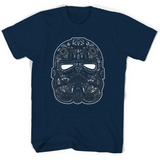 Tie Fighter Calavera Star Wars T Shirts