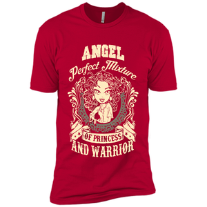 Angel Perfect Mixture Of Princess And Warrior T Shirts-New Wave Tee