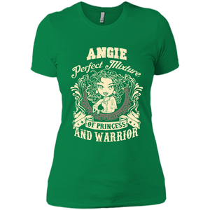 Angie Perfect Mixture Of Princess And Warrior T Shirts-New Wave Tee
