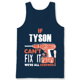 If Tyson Can't Fix It We're All Screwed T Shirts-New Wave Tee