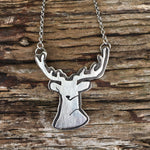 Fauna of the PNW, Deer, sterling silver