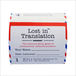 Lost in Translation Refill Roll