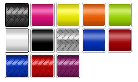 Preview of color swatches