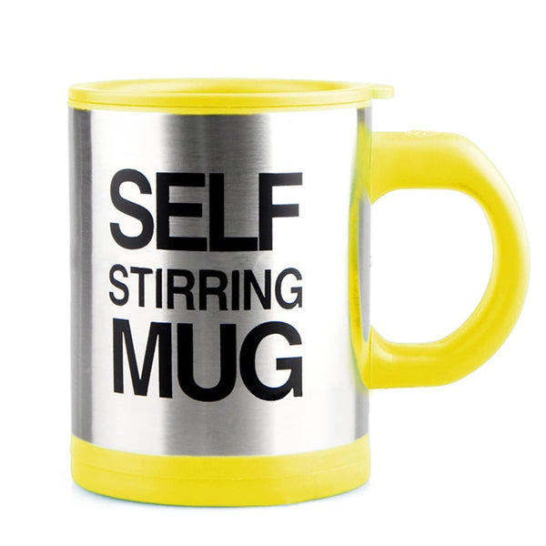 coffee mug that stirs itself