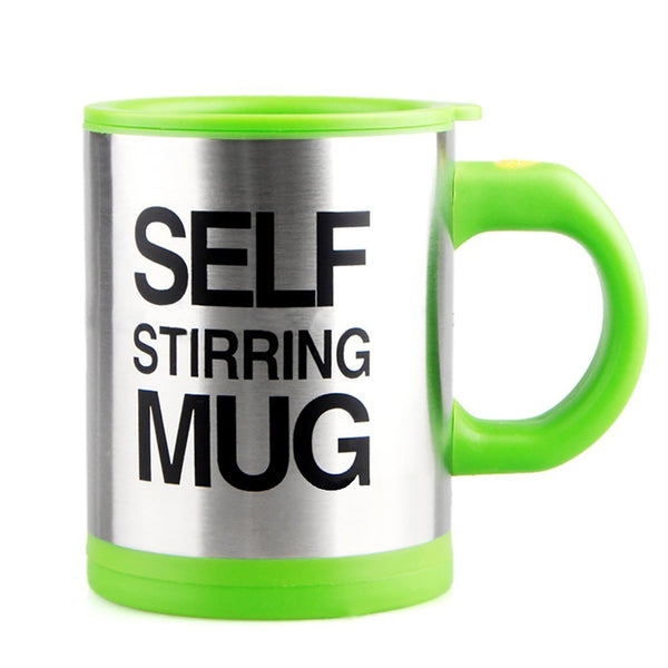 auto stirring coffee mug