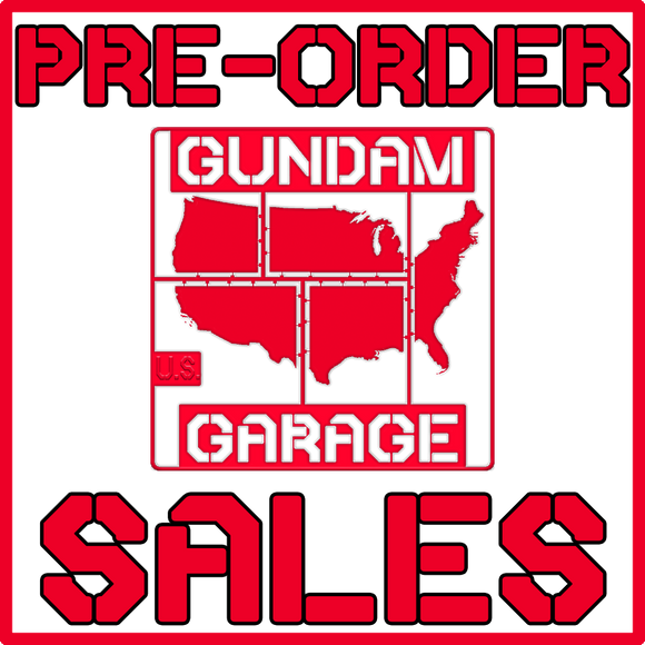 Pre-Order Listings from GundamGarage.us