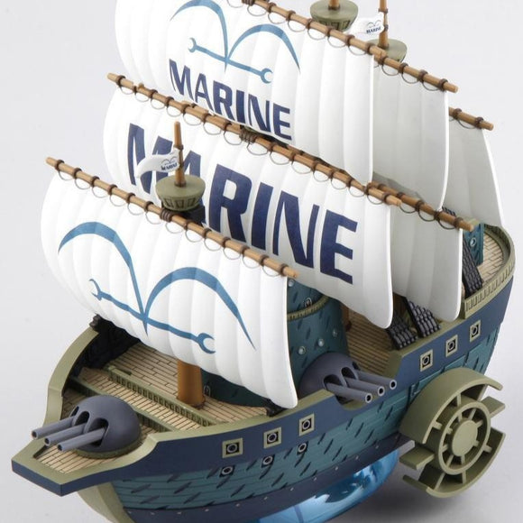 One Piece Grand Ship Collection #7 [ Marine Warship ] (No Grade) Bandai Model Kit [Members]