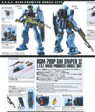 PRE-ORDER [MG 1/100 GM Sniper Ⅱ] (MG) 1/100 Scale Bandai Model Kit [Members]
