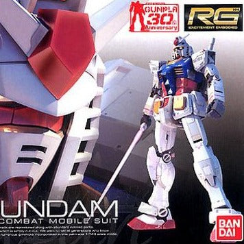 PRE-ORDER [RX-78-2] GUNDAM (RG) 1/144 Scale Bandai Model Kit
