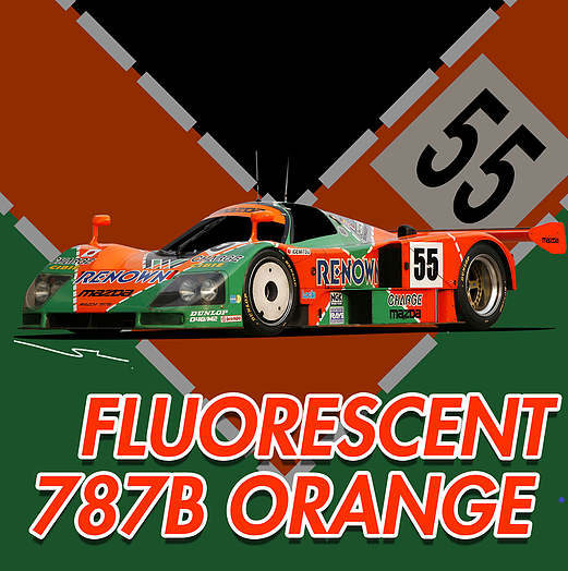 [SP-018] Fluorescent 787B Orange