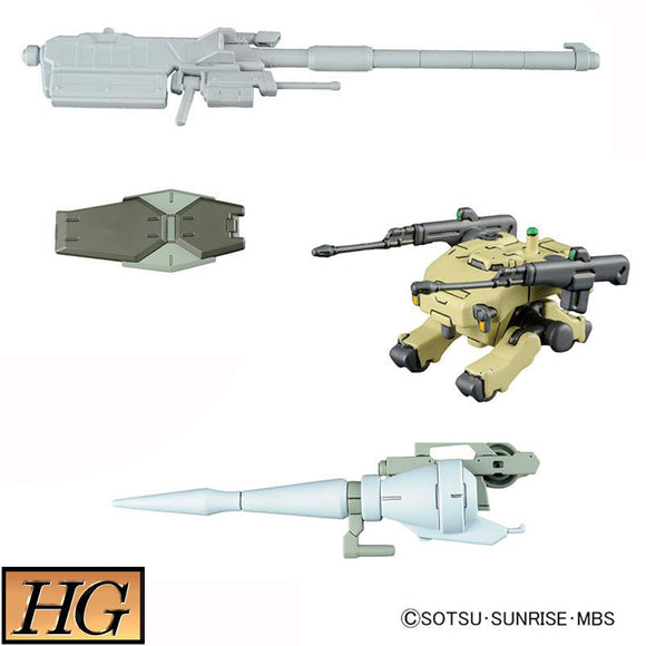 𝐌𝐒 𝐎𝐩𝐭𝐢𝐨𝐧 𝐒𝐞𝐭 𝟎𝟏 & 𝐂𝐆𝐒 𝐌𝐨𝐛𝐢𝐥𝐞 𝐖𝐨𝐫𝐤𝐞𝐫 (HG) 1/144 Scale Bandai Model Kit [Members]