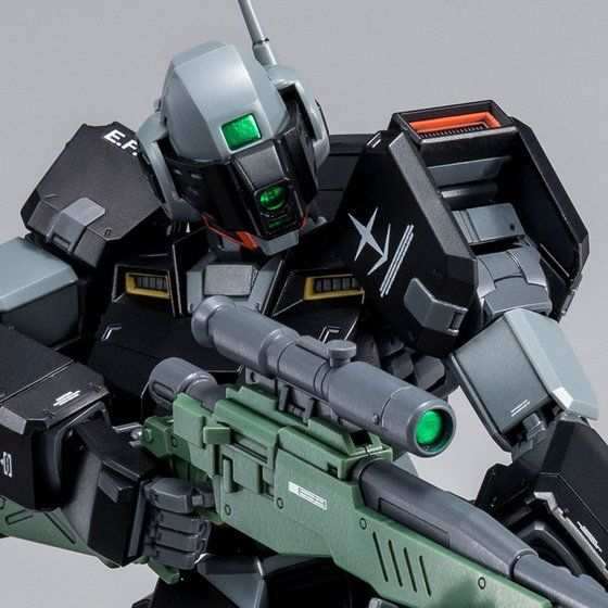 GM Sniper II (Lido Wolf Machine) (MG) 1/100 Scale [P-Bandai] Model Kit