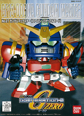 G-Generation Gundam Maxter (SD) No Scale Bandai Model Kit [Members]