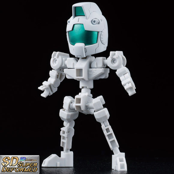 SDG Cross Silhouette Frame [WHITE] (SD) No Scale Bandai Model Kit [Members]