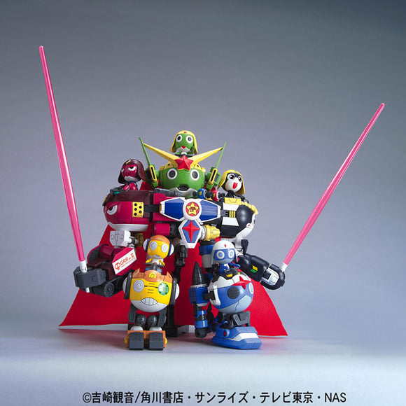 [Sgt. Frog] KeroPla DX03 Goddokeron (No Scale) Anime Model Kit [Members]