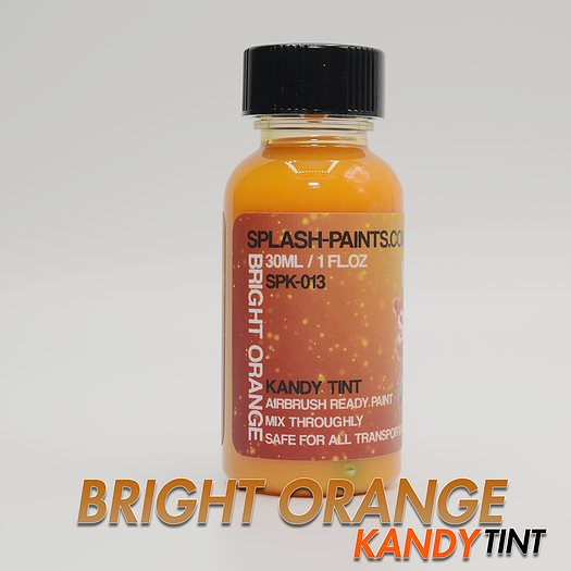 [SPK-013] Bright Orange Kandy Tint