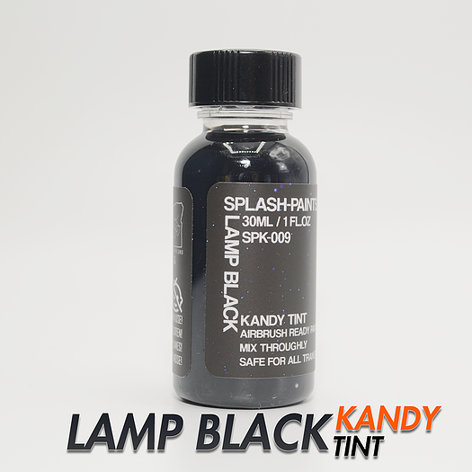 [SPK-009] Lamp Black Kandy Tint