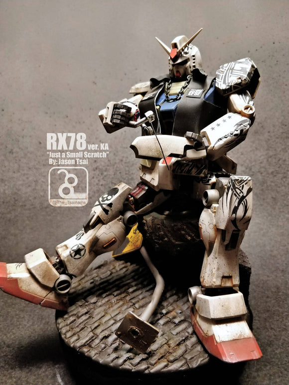 Tattooed RX-78 (MG/ver ka)