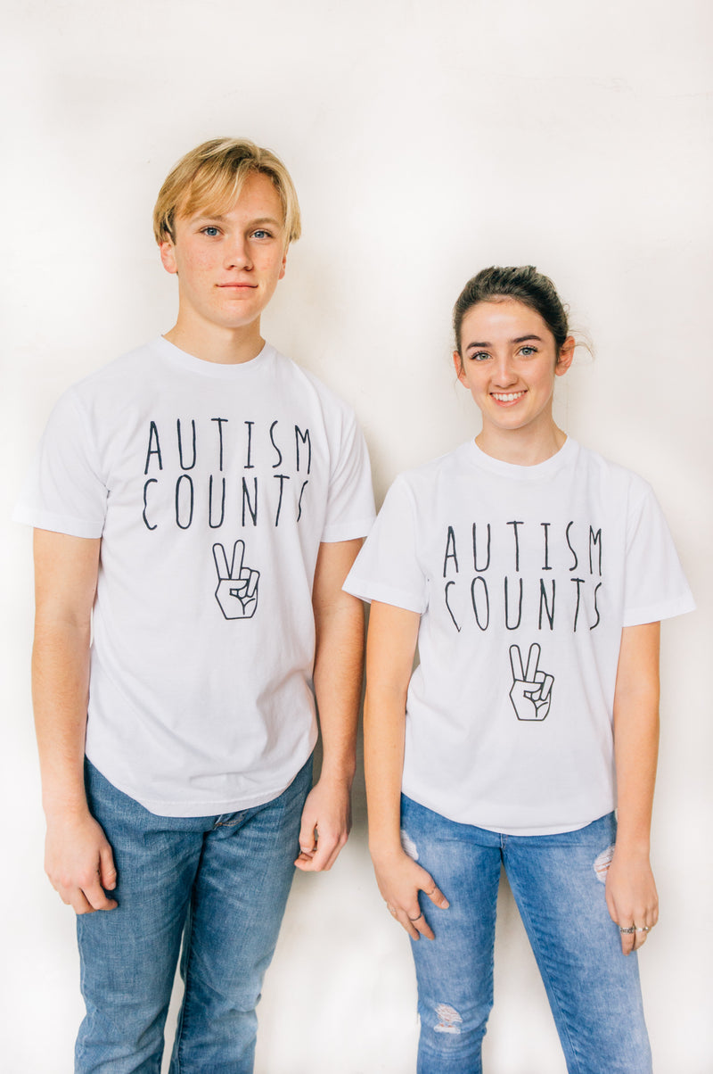 Autism Counts Crew - Bayou Blend Apparel