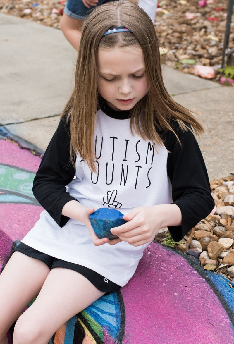 Autism Counts Youth Baseball Tee - Bayou Blend Apparel