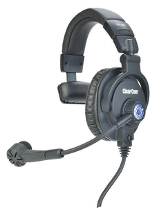 Clearcom CC-300 Single Sided Headset with Auto-Mute Mic Boom