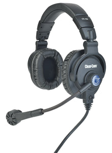 Clearcom CC-400 Dual Sided Headset with Auto-Mute Mic Boom