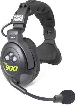 PortaPhone TD-909HD - 9 Coach Headset System