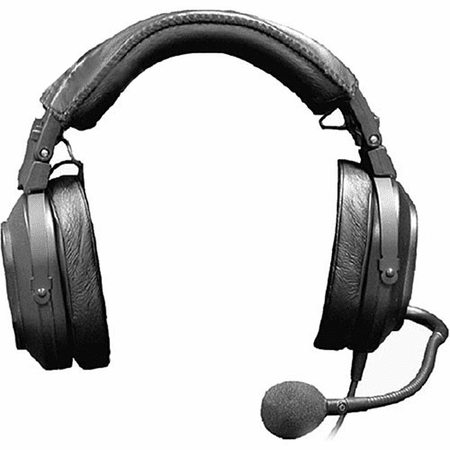 Telex/RTS HR-2 - Dual Sided Headset w/Mic, A4F, F.01U.117.460