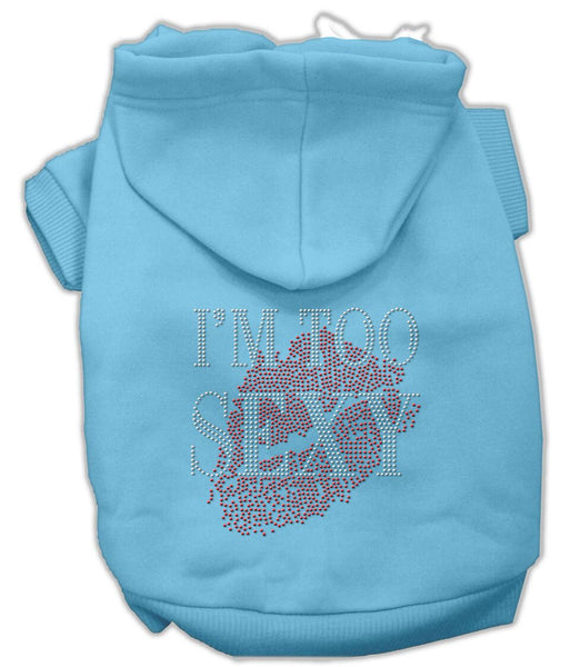 I'm Too Sexy Rhinestone Hoodie - Your Star Pet