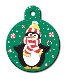 Penguin Circle ID Tag - YourStarPet