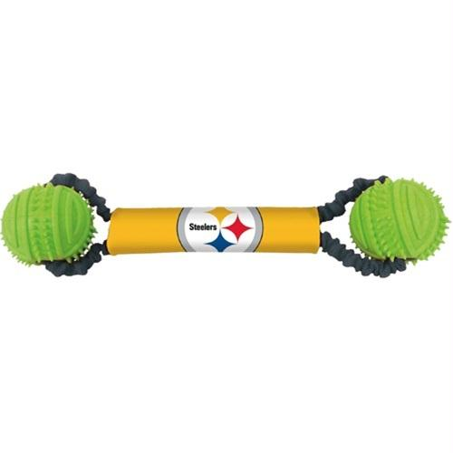 Pittsburgh Steelers Double Bungee Tug-N-Toss Toy - YourStarPet