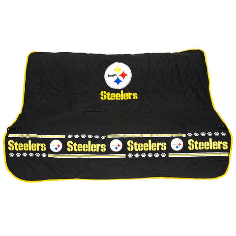 Pittsburgh Steelers Pet Car Seat Cover - YourStarPet