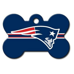 New England Patriots Bone ID Tag - Your Star Pet