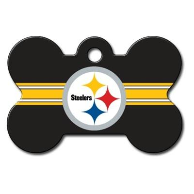 Pittsburgh Steelers Bone ID Tag - YourStarPet