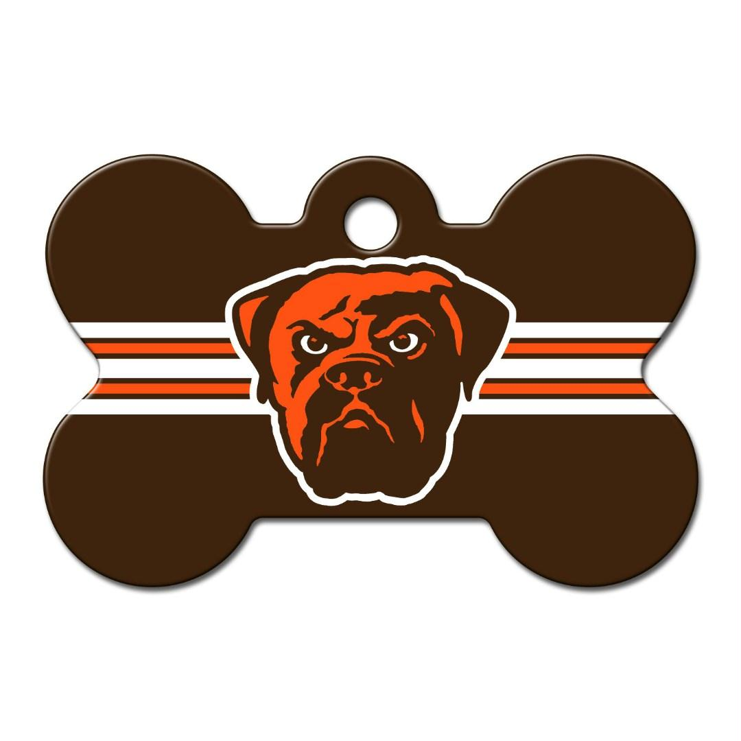 Cleveland Browns Bone ID Tag - YourStarPet