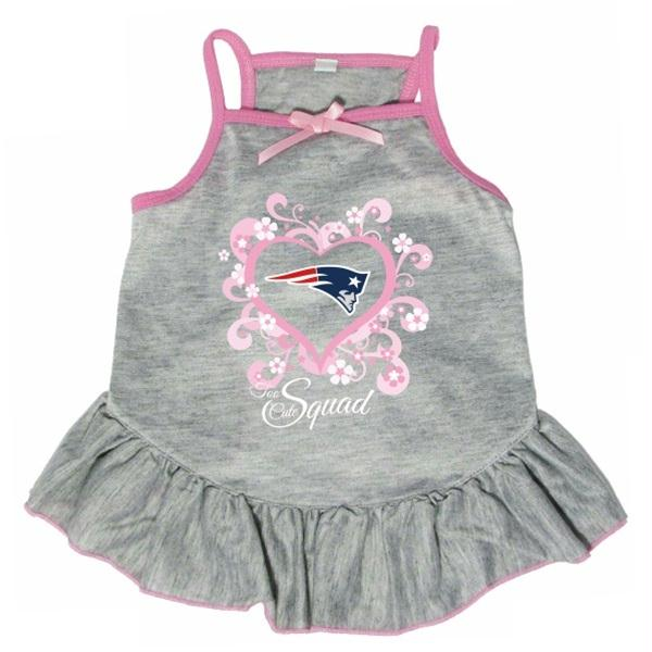 "New England Patriots ""Too Cute Squad"" Pet Dress - Your Star Pet"