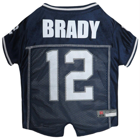 Tom Brady #12 Pet Jersey - YourStarPet