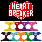 Heart Breaker Soft Mesh Harnesses - YourStarPet