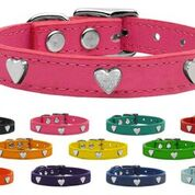 Heart Leather Collar - Your Star Pet