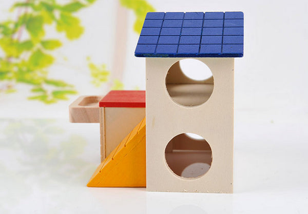 Small Animal Wooden Hiding House - YourStarPet