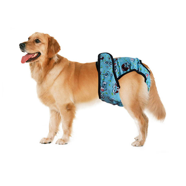 Washable Sanitary Briefs/Shorts for Female Dogs Assorted Designs and Sizes - Your Star Pet