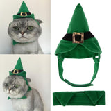 Elf Cap and BowTie Set for Cats and Dogs
