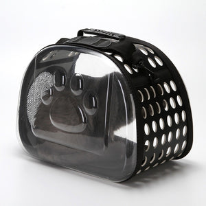 Clear Pet Carrier