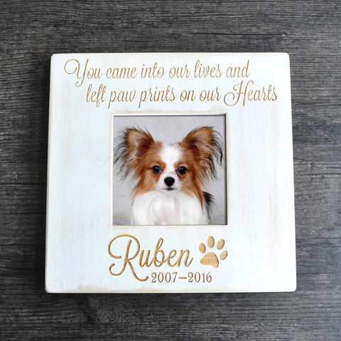 Personalized Memorial Pet Photo Frame - YourStarPet