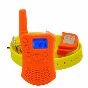 Dog Training Collar With Wireless Intercom!