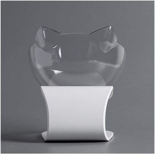 Anti-slip Tilted Cat Dish - Your Star Pet