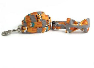 Fox Dog Collar Or Collar/Leash Set